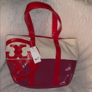 Tory Burch beach tote